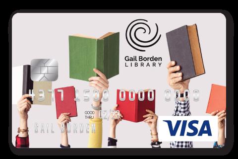 Gail Borden Affinity Visa Credit Card