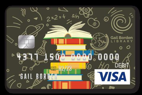 Gail Borden Affinity Visa Debit Card