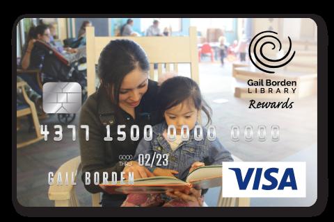 Gail Borden Affinity Visa Rewards Card