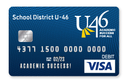 District U-46 Visa Debit Card