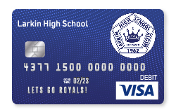 Royals Visa Debit Card