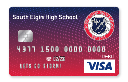 Storm Visa Debit Card
