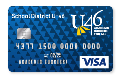 District U-46 Visa Platinum Card