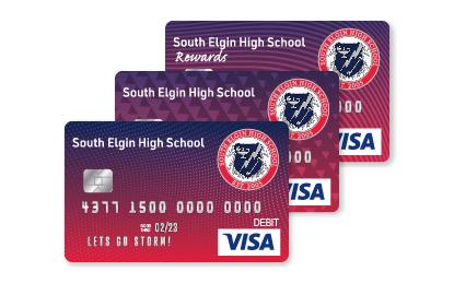 Storm Affinity Visa Cards
