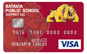 Bulldogs Visa Card