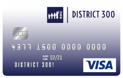 District 300 Visa Card