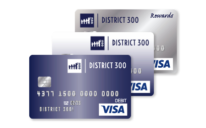District 300 Affinity Visa Cards