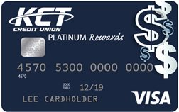 Sample KCT Visa Platinum Rewards Card